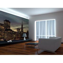Tapeta večerní San Francisko (150x116 cm) - Murando DeLuxe