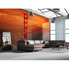 Fototapeta - Golden Gate (150x116 cm) - Murando DeLuxe