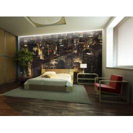 Tapeta noční Chicago (150x116 cm) - Bimago