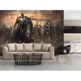 Černý jezdec (150x105 cm) - Murando DeLuxe