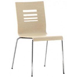 Italská jídelní dřevěná židle Kuadra 1351 - PD
