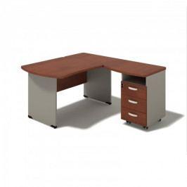 Rohový psací stůl Toronto 195-LZ