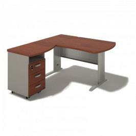 Rohový psací stůl Toronto 196-LZ