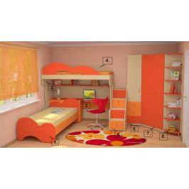 Sestava dětského nábytku LIA 2 - LZ
