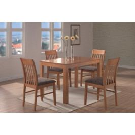 Jídelní stůl Vašek + 4 židle Viola - SR
