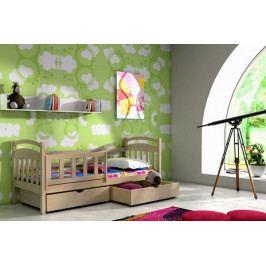 Masivní dětská postel ANNA III. -VO