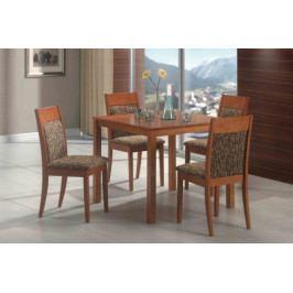 Jídelní stůl Lukáš + 4 židle Dita - SR