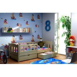 Masivní dětská postel BELA II. -VO