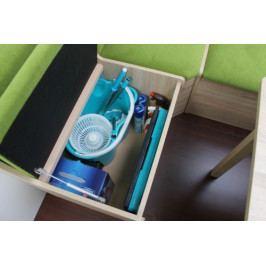 Rohová lavice s úložným boxem - IK