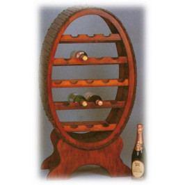 Regál na víno soudek - EL