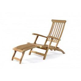 Dřevěné zahradní lehátko JACKSONN-GD
