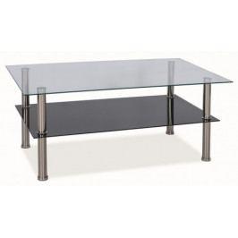 Konferenční stolek se skleněnou deskou - CS