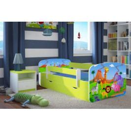 Dětská postel se zábranou-BN