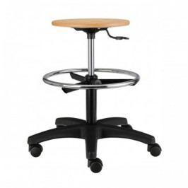 Pracovní dřevěná židle NORA-AB
