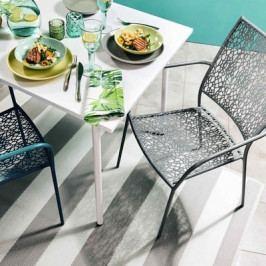 Stohovatelná židle s područkami - BU