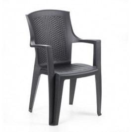 Zahradní plastová židle EDENN LUX-UZN