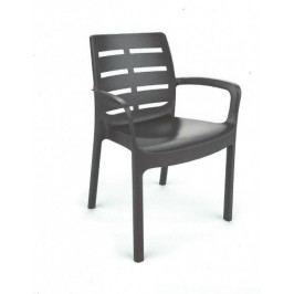 Zahradní plastová židle BORNEOO -UZN