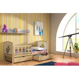 Dětská dřevěná postel - VO