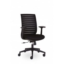 Kancelářská židle černá SR-630-LO