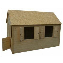 Dětský domeček dřevěný - AX