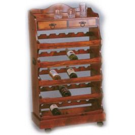 Dřevěný regál na víno - EL