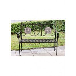 Venkovní kovová lavice - AT