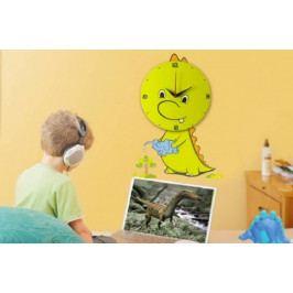 Dětské nástěnné nalepovací hodiny - BN