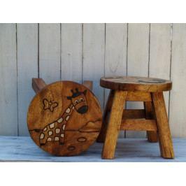 Dětská dřevěná stolička - PHG