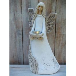 Andělka nevěsta se svícnem - PHG