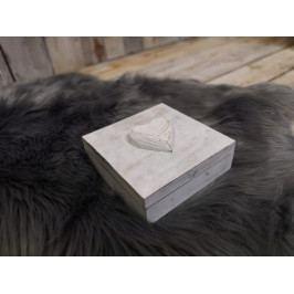 Dřevěná truhlička na poklady - PHG