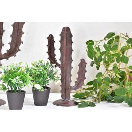 Kovová dekorace kaktus - HR