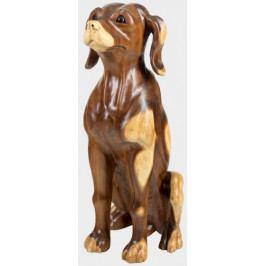 Velký dřevěný hlídací pes - FP