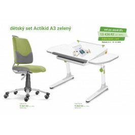 Dětský nábytek pro školáky - akční set - MA