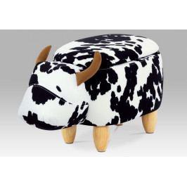 Taburet Kráva s úložným prostorem- AT