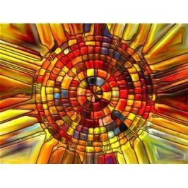 Prkénko s abstraktním motivem- HN
