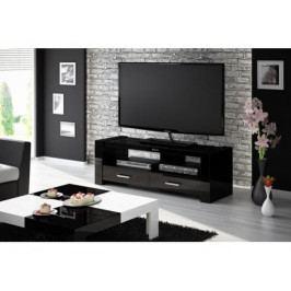 Lesklý TV stolek- HU