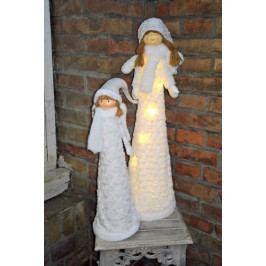Vánoční svítící andělky sada - EW