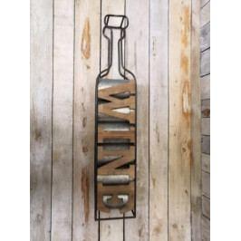 Kovový stojan na víno- PHG