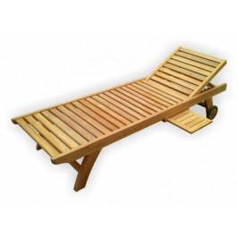 Dřevěné zahradní lehátko - DK