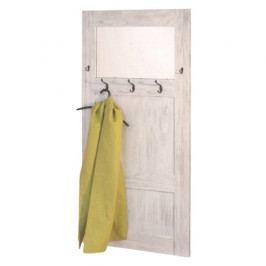 Věšáková stěna jako staré dveře - ID