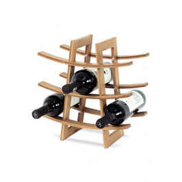 Jednoduchá bambusová vinotéka - AT