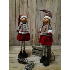 Vánoční plyšové panenky- PHG
