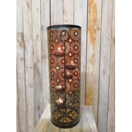 Bronzový svícen na čajové svíčky - DS