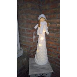 Vánoční svítící andělka - EW