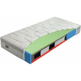Měkčí pružinová matrace se zpevněným bokem - MT