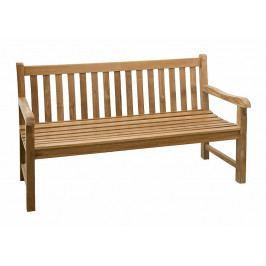 Zahradní lavice teak ROMA 150 cm