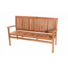Zahradní teaková lavice HARMONY 120 cm