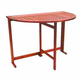 Zahradní stůl konzole půlkruh skládací MERCY