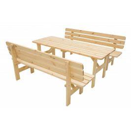 Masivní sestava z borovice 1+2 dřevo 30 mm (různé délky) 150 cm
