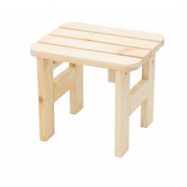 Masivní dřevěná zahradní stolička z borovice dřevo 22 mm